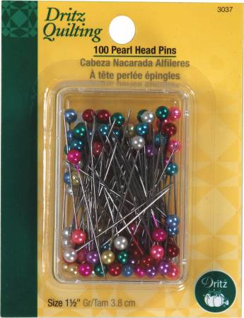 100 Pearl Head Pins