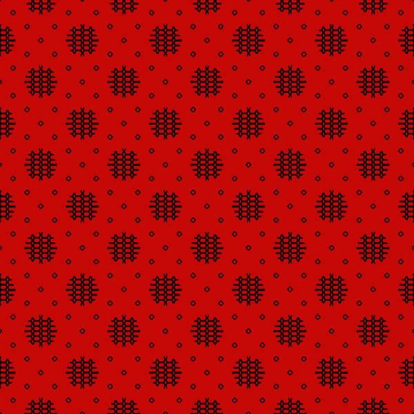 Essentials 10 - Red Woven Dot