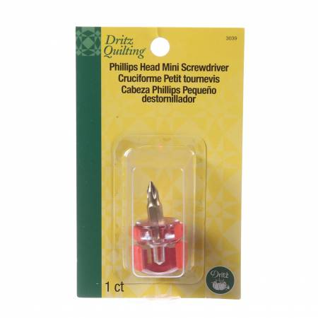 Dritz Mini Screwdriver Phillips Head