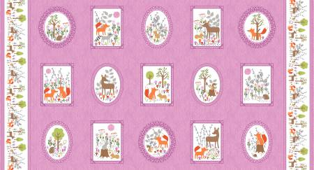 Gentle Forest Pink Picture Frames