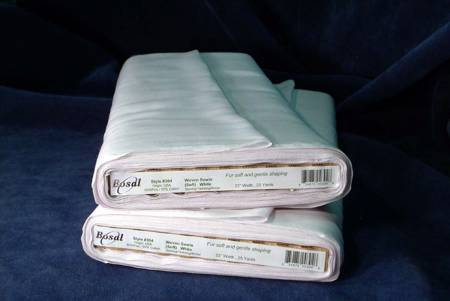 Woven Soft Sew-in Interfacing White 22in x 25yds