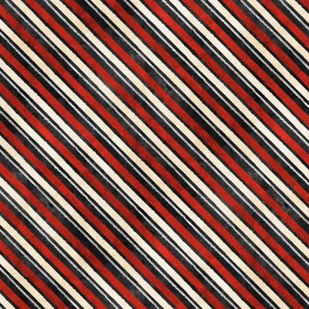 Black Diagonal Stripe - 30528-939