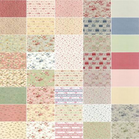 2-1/2in Strips Durham Quilt 42pcs/bundle