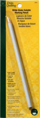Water Soluble Marking Pencil-White