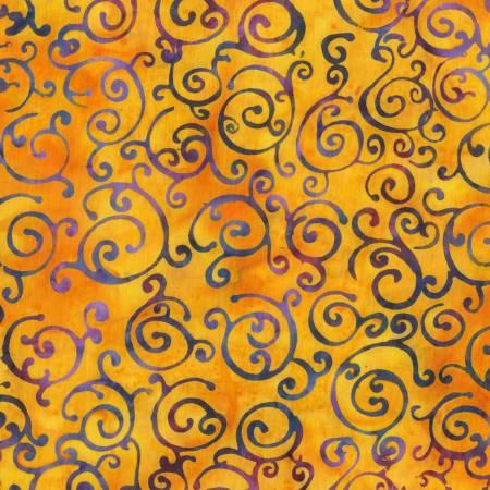 De Jonge - Bright Scrolls Batik