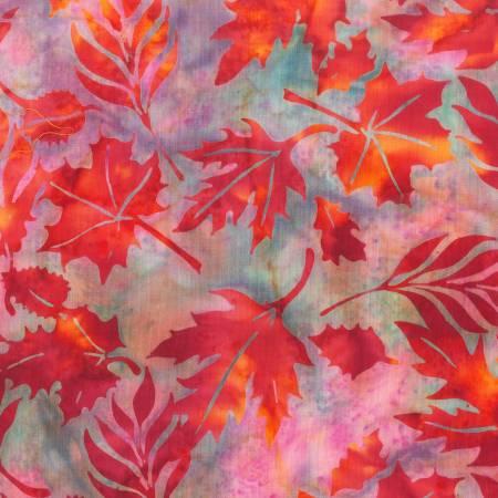 Amber Leaves Batik