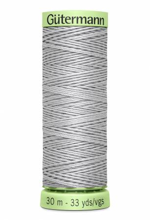 Heavy Duty Polyester Topstitching Thread 30m/33yds Mist Grey