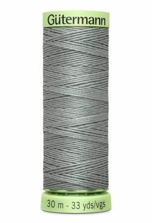 Heavy Duty Polyester Topstitching Thread 30m/33yds Greymore