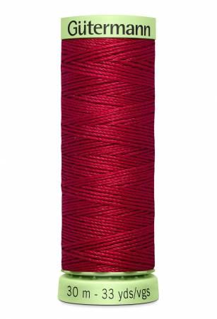 Heavy Duty Polyester Topstitching Thread 30m/33yds Ruby Red