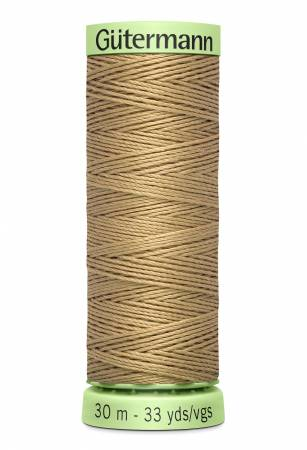 Heavy Duty Polyester Topstitching Thread 30m/33yds Wheat