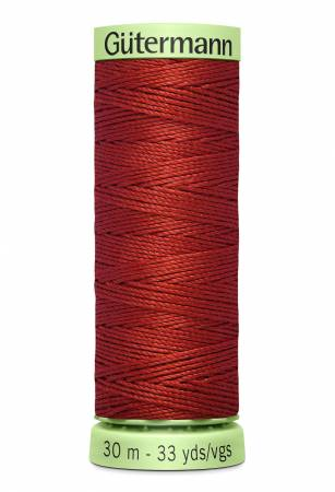 Heavy Duty Polyester Topstitching Thread 30m/33yds Rust