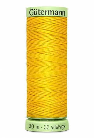 Heavy Duty Polyester Topstitching Thread 30m/33yds Goldenrod
