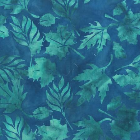 Bluebell Leaves Batik