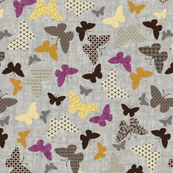 Dove Grey Butterflies
