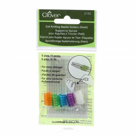 Coil Knitting Needle Holder Small 5ct
