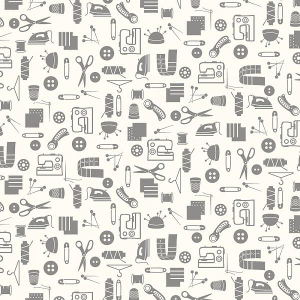 Small Talk 3144 Grey Sewing Accessories