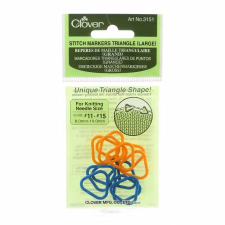 Triangle Stitch Markers Large 3151