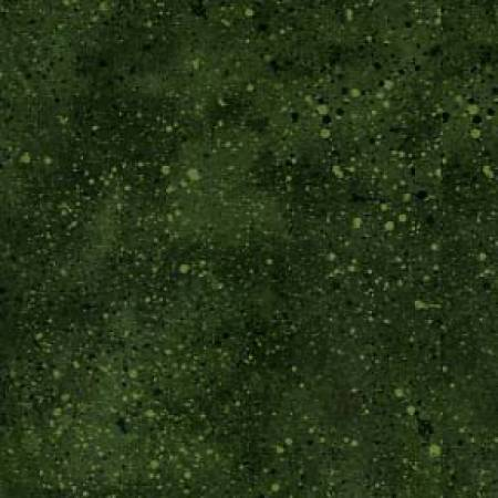 Dark Green Spatter