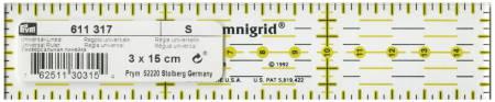 Omnigrid Metric Ruler 3cm x 15cm