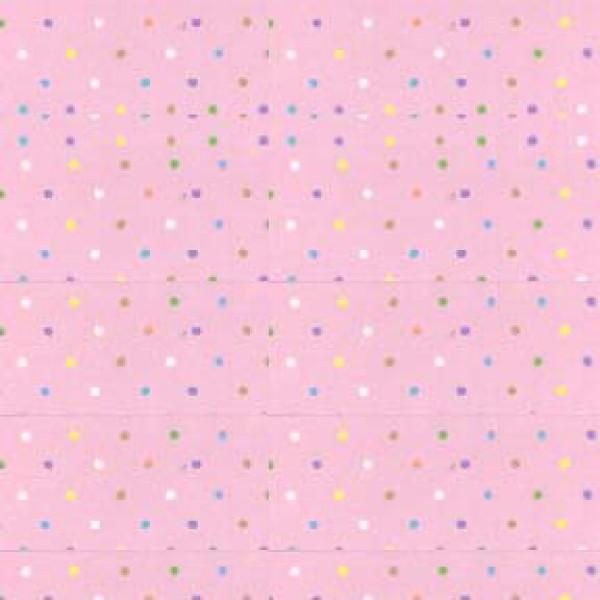 Light Pink Multi Pin Dots