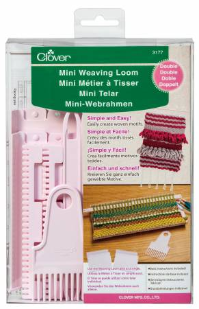 Mini Weaving Loom/Double