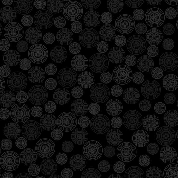 Gray Circles on Black
