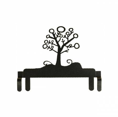 6in Winter Tree Header Charcoal