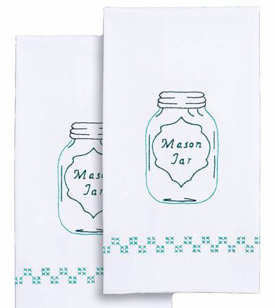 Decorative Hand Towels Mason jar