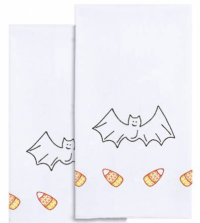 Decorative Hand towels 1 pair Halloween