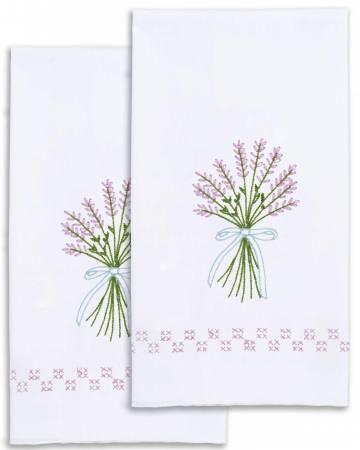Lavender Decorative Hand Towel