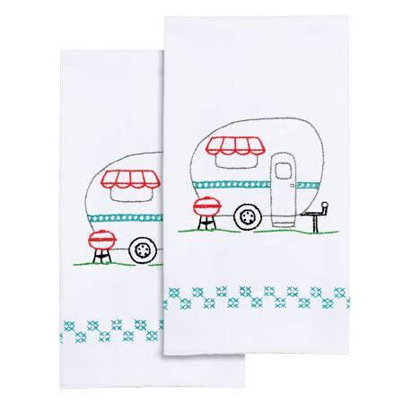Camper Decorative Hand Towels