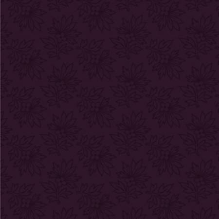 Purple Linear Leaf:  Mary's Blenders by Mary Koval for WIndham Fabrics