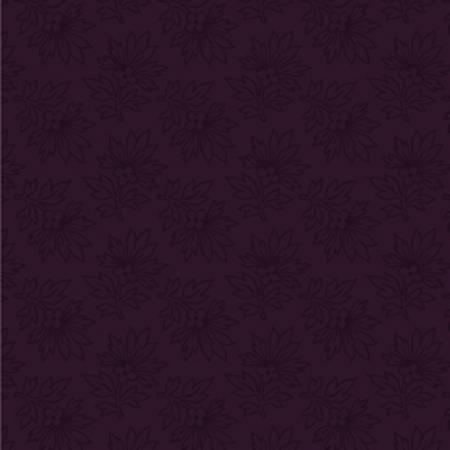 Purple Linear Leaf