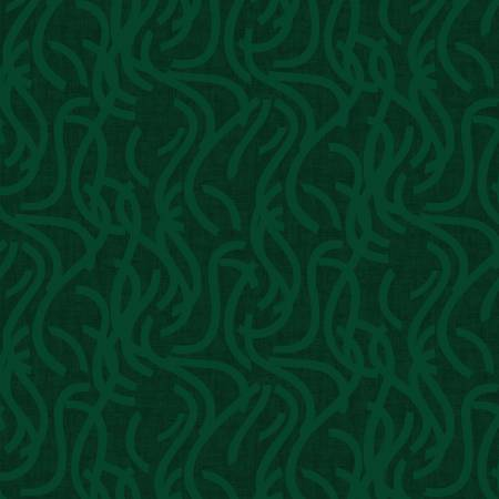 Forest Green Noodle Doodle 108in Wide Backing STE050418