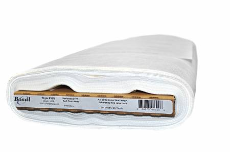 Tear-Away Soft Perforated F/R Stabilizer 20in x 25yds