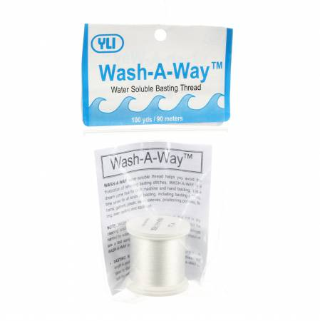 Wash-A-Way Water Soluble Basting Thread 100yds - Vendor Out of Stock Aug 2018