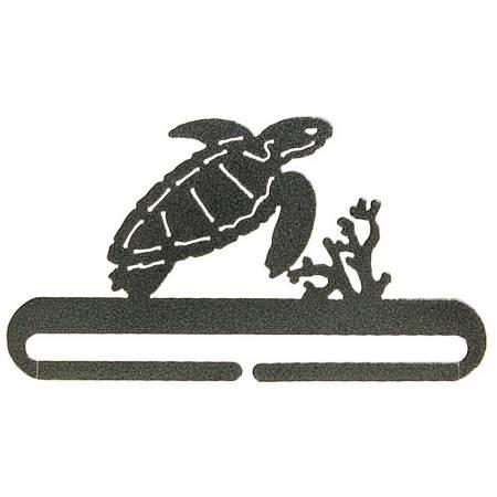 6in Sea Turtle Split Bottom Holder Charcoal