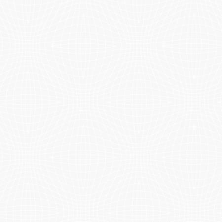 Ultra White Geometric