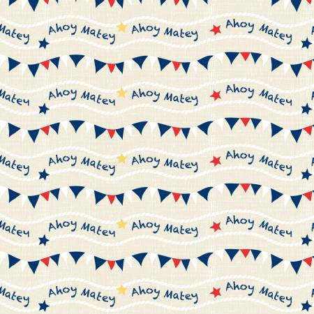 Cream Flags