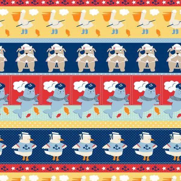 Ahoy Matey 3264 Stripe Multi
