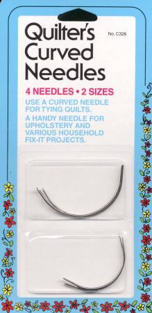 Collins Curved Between / Quilting Needles 2ct