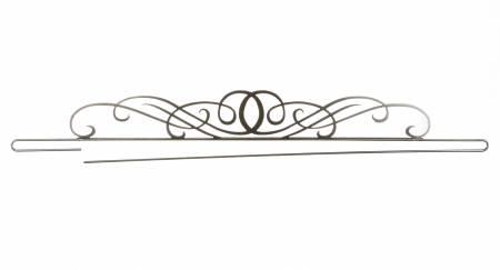 PS 36 Inch Windy Scroll Wire Split Charcoal