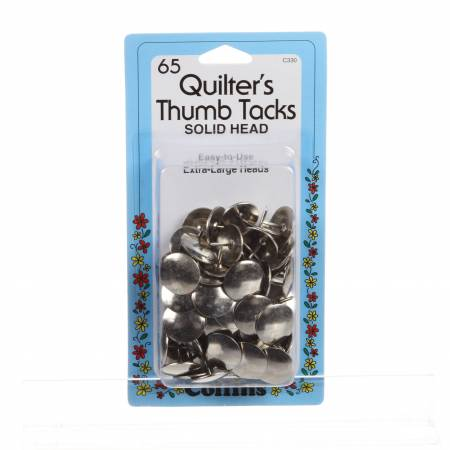 Collins Quilter's Thumb Tacks Extra Large Head 65ct