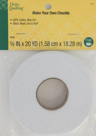 Dritz Quilting - Make-It Chenille - White 20yds