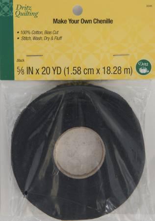 Dritz Quilting - Make-It Chenille - Black 20yds
