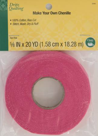 Dritz Quilting - Make-It Chenille - Hot Pink 20yds
