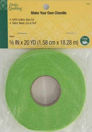Dritz Quilting - Make-It Chenille - Green 20yds