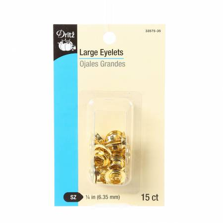 Eyelet Large Refill 1/4  15ct Gold