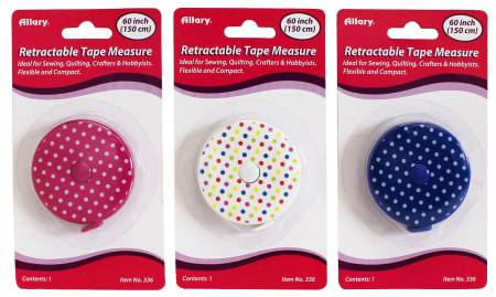 Retractable Tape Masure Polka Dot