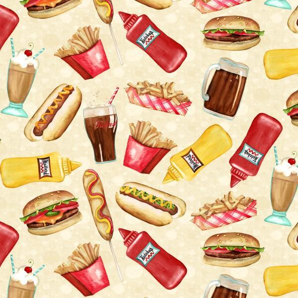 Cream Tossed Fast Food